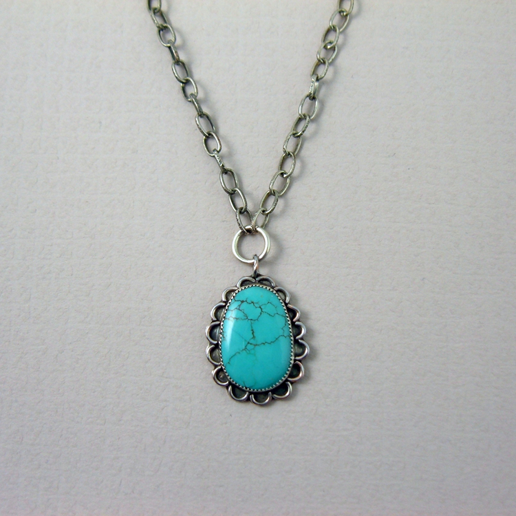 joanne turquoise american graduated at garcia by native products necklace jewellery