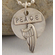 Inspirational Jewelry Pendant Wings of Peace
