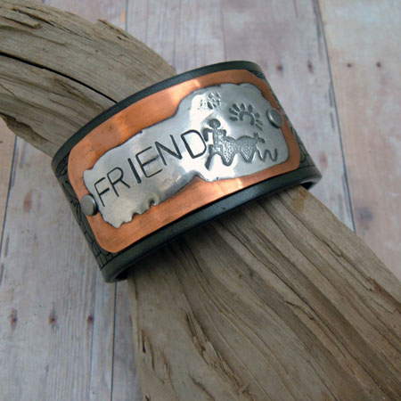 Leather Cuff Bracelet | Friend