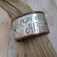 Leather Cuff Bracelet | Play Well With Others