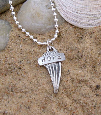 Message Jewelry Pendant - Hope