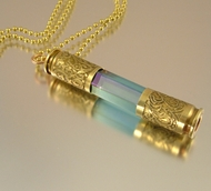 """Rainstick"" Bullet Necklace"