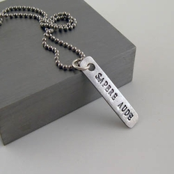 """Sapere aude """"Dare to be Wise"""" Pendant"""