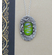 Silver and Dichroic Art Glass Pendant PS90