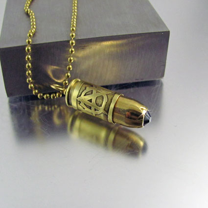 Sons of anarchy bullet necklace 9mm sons of anarchy 9mm bullet necklace mozeypictures Gallery