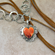 Spiny Oyster Heart Necklace