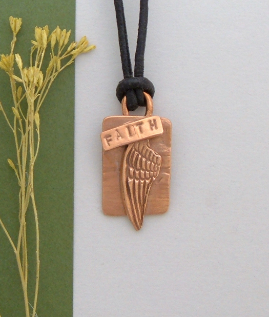 Spiritual Pendant <br> Faith