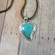 Turquoise Heart Necklace - Follow Your Arrow