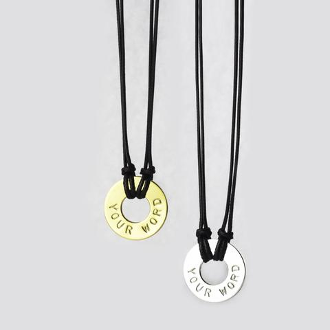 What's Your Word - Adjustable Necklace