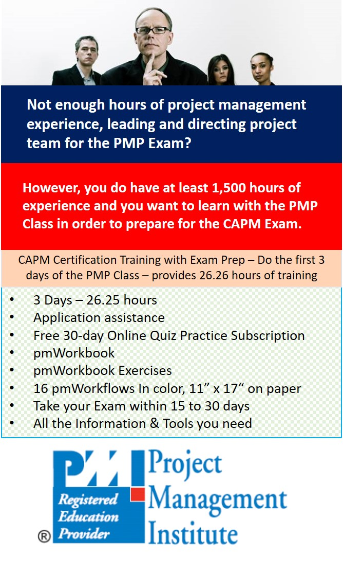 Capm Certification Training Live Video Conference