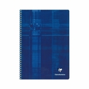 Clairefontaine Classic Wirebound Notebook - Blue, A5 Medium, Ruled