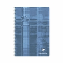 Clairefontaine Classic Wirebound Notebook - Blue-Grey, A5 Medium, Ruled