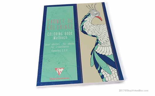 Clairefontaine Coloring Book for Adults - Nature - Click to enlarge