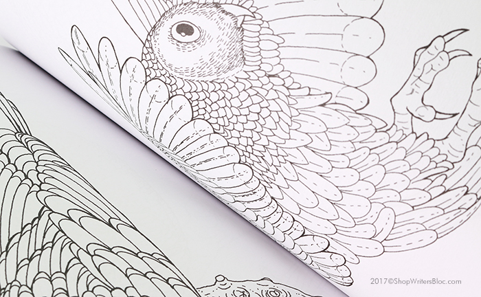 Clairefontaine Coloring Book For Adults