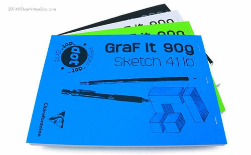 Clairefontaine Graf it 90g Sketch Pad - 8.25 x 11.75, Dot Grid - Click to enlarge
