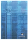 Clairefontaine Hard Cover Notebook - Blue, A4 Large, Ruled