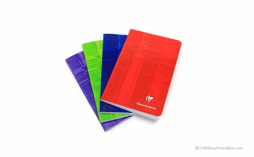 Clairefontaine Side Staple Notebook - 4.25 x 6.75, Ruled - Click to enlarge