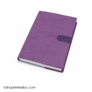 Exacompta Refillable Compact Desk Journal - Texas Cover, Violet