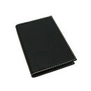 Exacompta Refillable Pocket Journal - Club Cover, Black