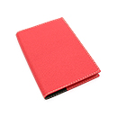 Exacompta Refillable Pocket Journal - Club Cover, Rose Grenadine