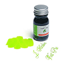 J. Herbin La Perle des Encres Fountain Pen Ink - Vert Pre, 10ml bottle
