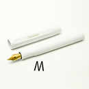 Kaweco CLASSIC Sport  Fountain Pen - White, Medium Nib