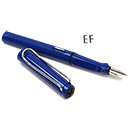 LAMY Safari Fountain Pen - Blue, Extra Fine Nib