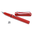 LAMY Safari Fountain Pen - Red, Medium Nib