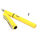 LAMY Safari Fountain Pen - Yellow, Fine Nib