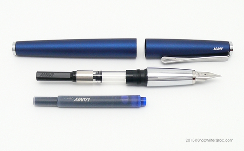 LAMY Studio Fountain Pen - Imperial Blue, Fine Nib