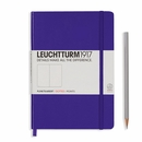 LEUCHTTURM 1917 Dot Grid Notebook - Medium, Hard Cover, Purple