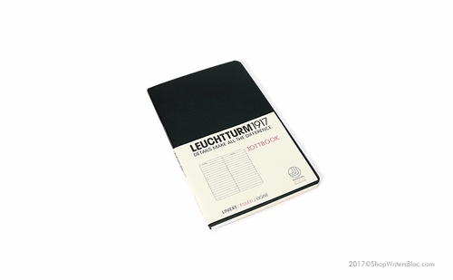 LEUCHTTURM1917 Jottbook - Pocket Size, Lined, Black - Click to enlarge