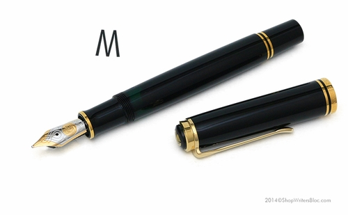 Pelikan Souveran M800 Fountain Pen Black - Medium Nib - Click to enlarge