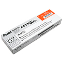 Pentel EnerGel Pen Refills LR7 Metal Tip 0.7mm - Box of 12 Orange