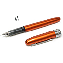 Platinum Plaisir Fountain Pen - Nova Orange, Medium Nib