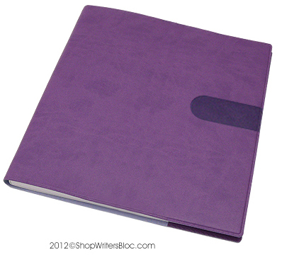 Quo Vadis Executive Desk Weekly Planner 2017 - Texas Cover, Violet