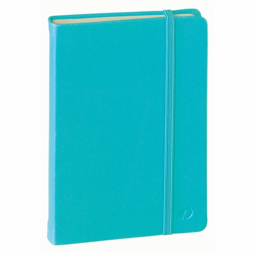 Quo Vadis Habana Journal Small, Turquoise - Lined, Ivory Paper