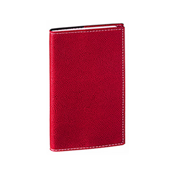 Quo Vadis IB Traveler Weekly Pocket Planner 2017 - Club Cover, Red