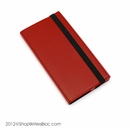 Quo Vadis IB Traveler Weekly Pocket Planner 2017 - Soho Cover, Red