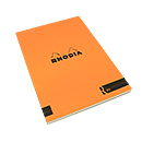 R by Rhodia Bloc No. 16<br>6 x 8 1/4 Orange, Blank