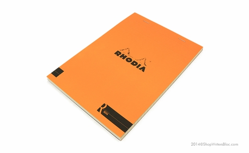 R by Rhodia Bloc No. 16<br>6 x 8 1/4 Orange, Lined - Click to enlarge