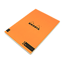 R by Rhodia Bloc No. 16<br>6 x 8 1/4 Orange, Lined