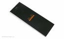 Rhodia Bloc No. 8<br>3 x 8 3/4 - Black, Graph