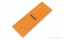 Rhodia Bloc No. 8<br>3 x 8 3/4 - Orange, Lined