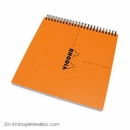 Rhodia Classic Reverse Book - Orange, Dot Grid