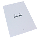 Rhodia Ice Bloc No. 18 White - A4 Size, Lined w/ Margin