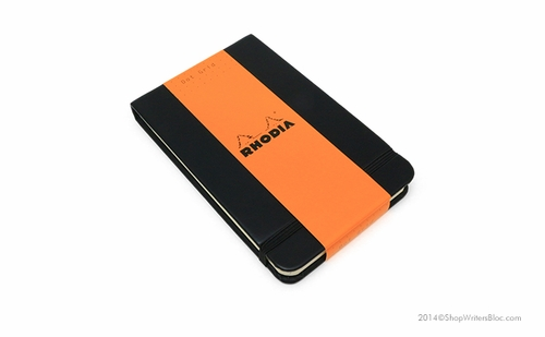 Rhodia Webnotepad - 3.5 x 5.5, Black, Dot Grid - Click to enlarge