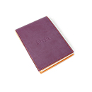 Rhodiarama Pad Holder No. 12 with Notepad - Purple