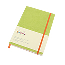 Rhodiarama Soft Cover Notebook - Medium, Anise Green, Dot Grid