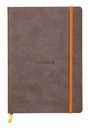 Rhodiarama Soft Cover Notebook - Medium, Chocolate, Lined